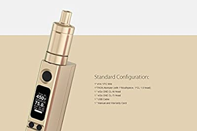 eVic VTC Tron-S Starterset / E-Zigarette Full Kit 75W von DampfMarie