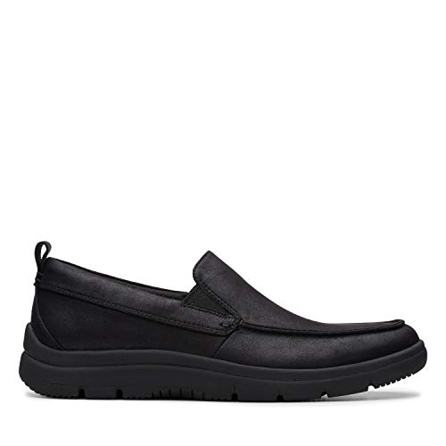 Clarks Tunsil Way, Mocasines Hombre, Negro Black