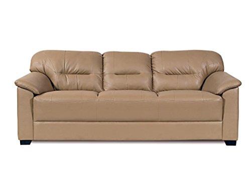 Home City Mirly Three Seater  Sofa (Beige)