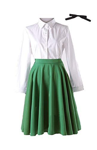 ValuePack Disfraz de uniforme verde violeta para...