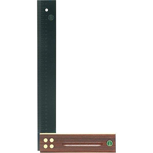 Preisvergleich Produktbild E. C. EMMERICH GMBH + CO. KG 409 Präzisionswinkel L.250mm Palisanderholz gelaserte mm-Skala ECE
