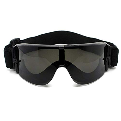 Wenwenzui Military Goggles Tactical Glasses X800 Sunglasses Goggles Eye Protecting Black -