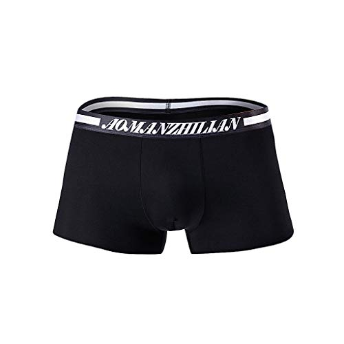 B-commerce Sommer Strand Kurze Hosen für Mann Herren konvex atmungsaktiv Ice Silk Boxershorts Bikini Underwear Platz weiche ()