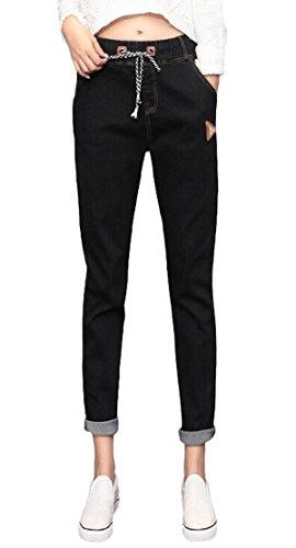 Casual Aivtalk-Custodia Skinny Jeans Denim-Pantaloni da Harem jeans M