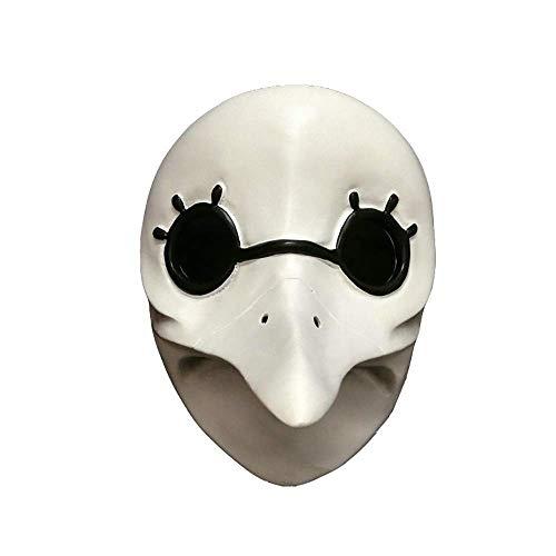opfbedeckung Streich Kostüm Maske Lustig Comic Lächerlich Halloween Realistische Latex Maskerade Karneval Maske ()