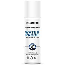 VITAL FOOT - Spray Protector Agua Lluvia Impermeabilizante Calzado Zapato WaterProof - 250 ml