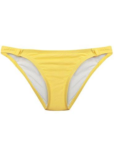 oodji Ultra Damen Bikinihose Gelb (5100Y)