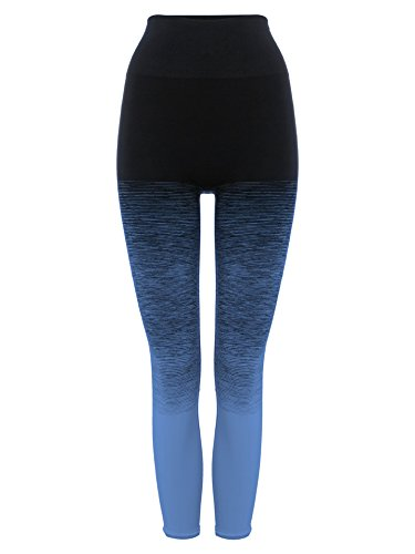 Pepper & Mayne High Waist Compression Legging Femme Fra Angelico Blue