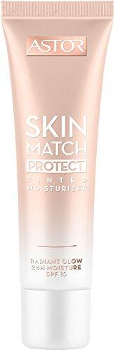 Astor Skin Match Protect Tinted Moisturizer, Farbe 002 Medium/Dark, 1er Pack (1 x 30 ml)