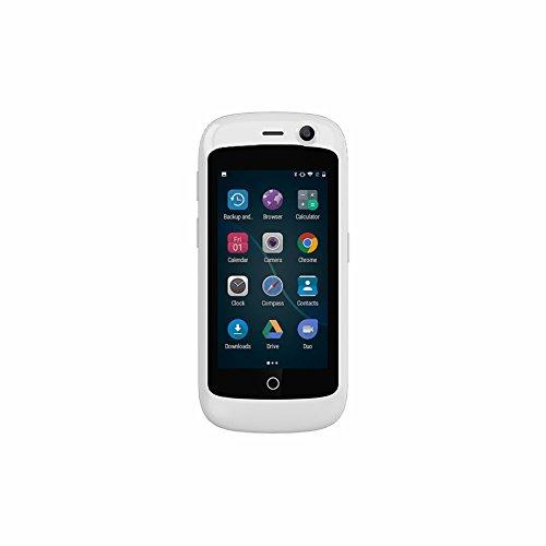 Unihertz Jelly Pro, Kleinstes 4G Smartphone der Welt, Android 7.0 Nougat entsperrt Smartphone mit 2 GB RAM und 16 GB ROM, Perlweiß