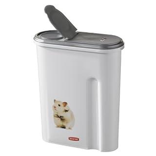 Curver 03903-P84-00 Pet-Futter Container 25 x 10.5 x 30.5 cm, 1.5 kg, sortiert