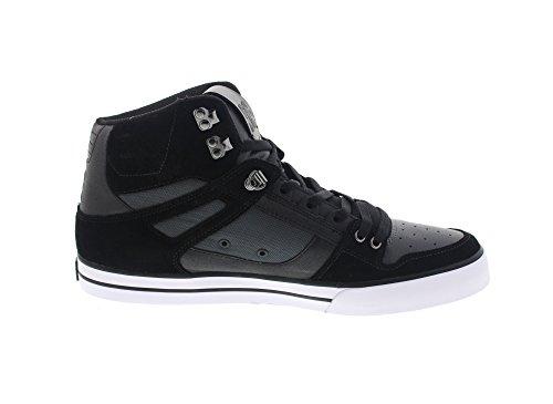 Grey Schwarz Schuhe Dc Wc Spartan High Se Dark Black advp8q
