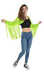 Folat 64575 - Disfraz para mujer, color verde