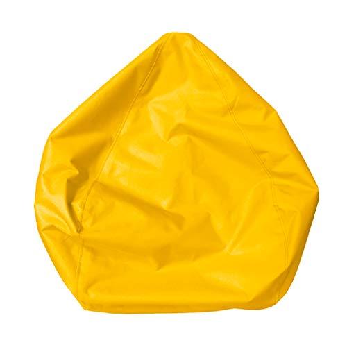 Non-brand Wasserdichte Gefüllte Tier Speicher Sitzsack Abdeckung Extra Großen - Gelb