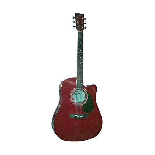 Guitarra Electroacústica Roja