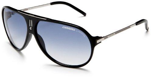Carrera Hot Aviator Sunglasses,Black And Palladium Frame/Azure Gradient Lens,one size image