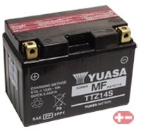 96 Honda Shadow (YUASA BATTERY YTZ14S Batterie (Preis inkl. EUR 7,50 Pfand))