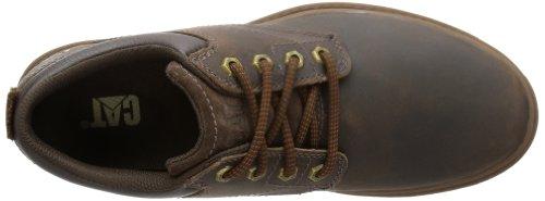 Cat Footwear  MAXWELL,  Scarpe stringate modello Derby uomo Marrone (Braun (MENS DARK BROWN))