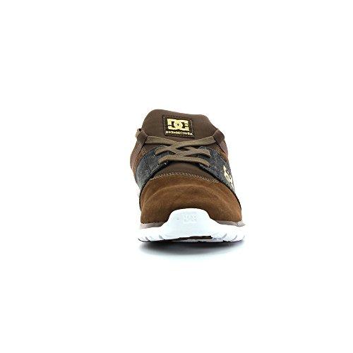 DC Shoes Heathrow Se M, Sneakers Basses homme Marron