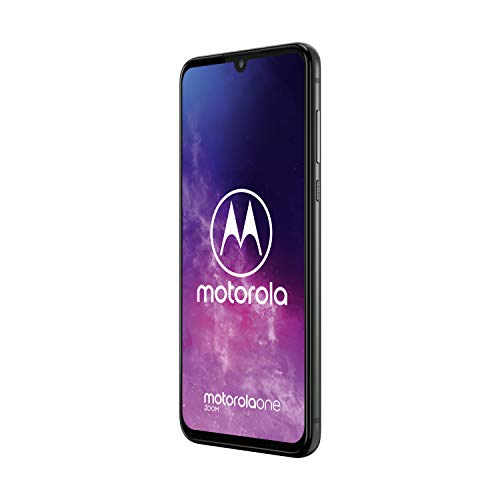 Motorola One Zoom 6.4 Inch FHD+ Display, Quad Camera System, 128 GB/4 GB, Android 9, Dual SIM UK Smartphone, Electric Grey Img 1 Zoom
