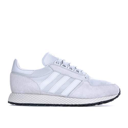 adidas Herren Originals Forest Grove Sneaker in Crystal White, Weiß - weiß - Größe: 39 1/3 EU -