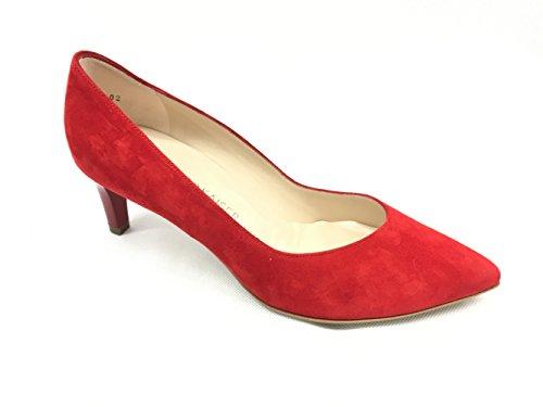 Peter Kaiser NURA Größe 35 Rot (Rot) Glitter Slingback Pump