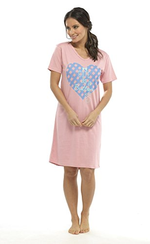 Socks Uwear Damen Nachthemden und Shirts Nachthemd Rosa - Pink
