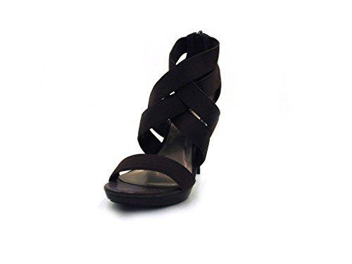 Via Uno - High Heel Sandalette - 20981605 Braun