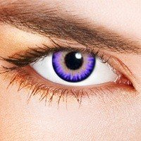 Lentillas De Contacto De Color Triple Tono Violeta