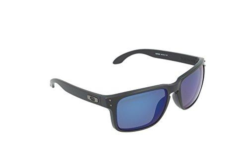 Oakley Sonnenbrille Holbrook, Matte Black W/Blk Ird, One size, OO9102-81 Preisvergleich