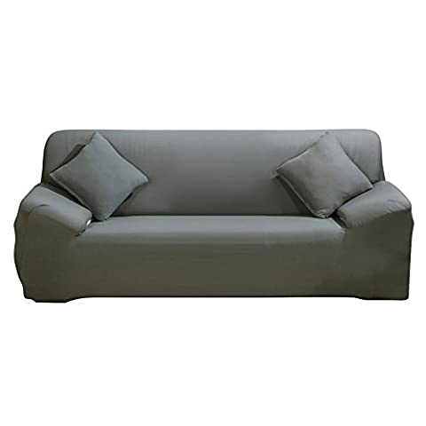 Housse de chaise stretch Bras–Couvertures de canapé Slipcover Canapé–en polyester Spandex Tissu Rouge Fauteuil Slipcover