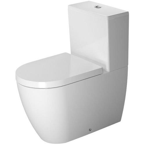 Duravit Stand-WC Kombi ME by Starck 650 mm Tiefspüler, (ohne Spülkasten ohne Deckel) , weiß, HygieneGlaze, 2170092000