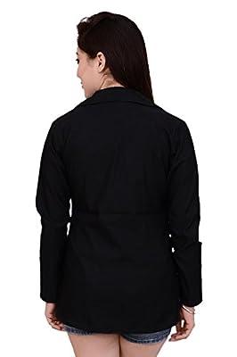 Ambrosial Women Single Breasted Formal Blazer