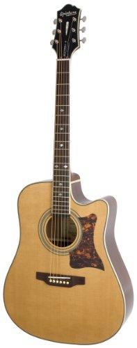 Epiphone DR-500MCE Acoustic/Electric (Dreadnought), Natural (Gibson Elektroakustische Gitarre)