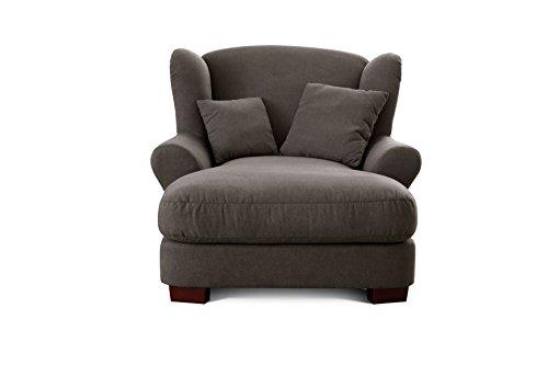 Cavadore 2198824 XXL-Sessel Love Seats dunkelgrau - 2