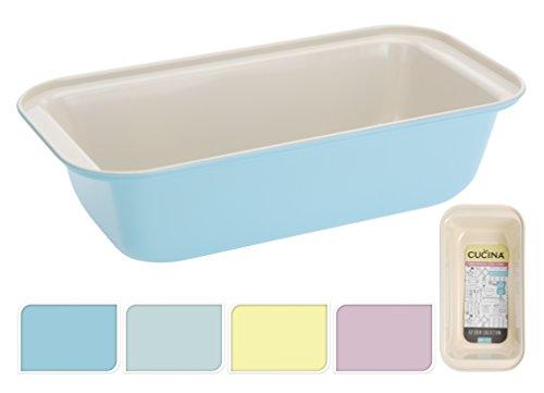 ackform Brotbackform Kuchenform antihaft blau mint gelb rosa (Gelb) (11 X 13-kuchenform)