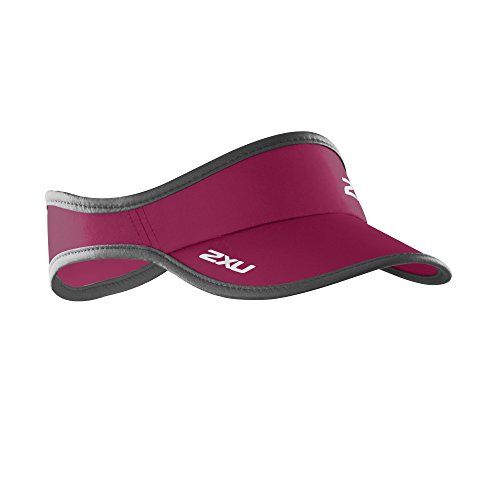2XU Pty Ltd 2XU Visor zum Rennen, Unisex, Barberry/Ink