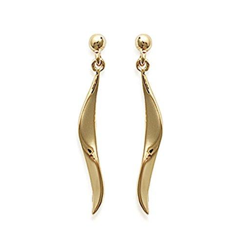 Isady – Emiliana Gold - Damen Ohrringe - 18 Karat (750) Gelbgold platiert - Ohrhänger