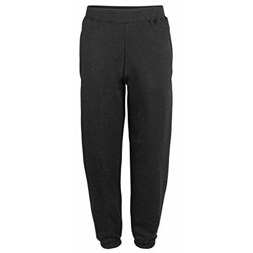 College cuffed sweatpants Jet Black L Pantalone Tuta Uomo