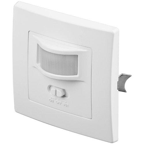 Interrupteur mural détecteur de mouvement 160° pour ampoules LED, halogènes