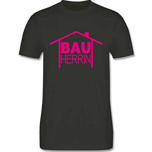 Sprüche - Bauherrin Heimwerker - Herren Premium T-Shirt Army Grün