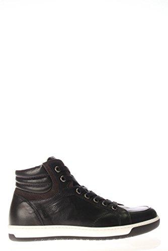 Nero Giardini Homme Haute SNEAKER A503651U Cuir SNEAKER High-100 Noir - noir