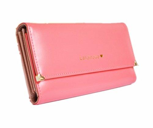 Eysee, Borsetta da polso donna Rosso giallo 19,4cm*9,6cm*3,2cm dunkel rosa