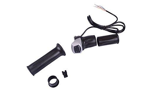 Drehgasgriff / Gasgriff / Drehgriff 36V mit LED-Batterieanzeige für Pedelec oder e-Bike