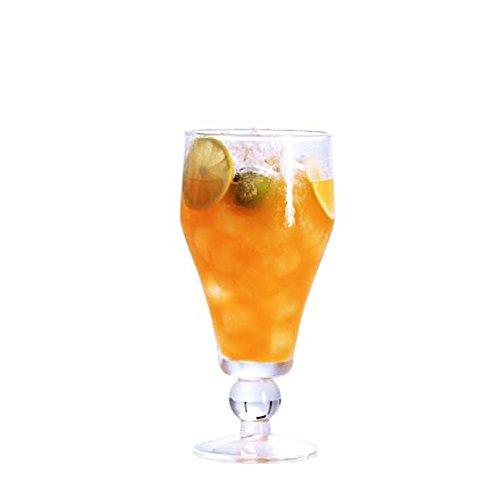 Black Temptation Elegante Goblet Party Gläser Heavy Base Saft Gläser Trinken Wein Cups, A 27