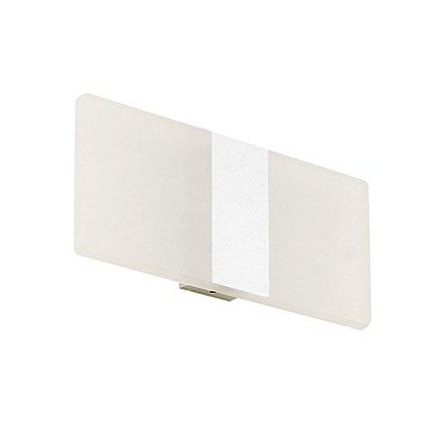 Gas-monitor-kits (owikar LED Wandleuchte Lampe, 6W Warm Weiß Wandtattoo Night-, dekorative Lampen für Badezimmer, Wohnzimmer, Weg in Treppenhaus, Schlafzimmer, Balkon und Esszimmer (weiß))
