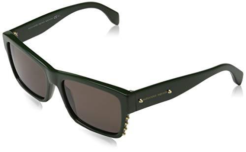 Alexander mcqueen occhiali da sole amq4258/s (56 mm) verde