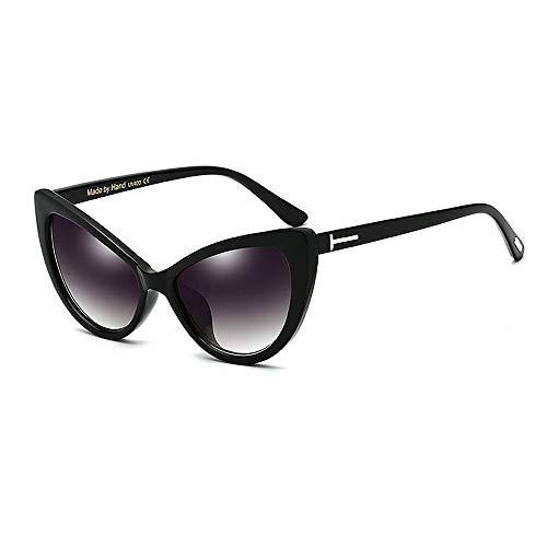 XHCP Frauen Klassische Sonnenbrille T Rivet Cat Eyes Große Sonnenbrille Für Frauen PC Rahmen Sonnenbrille Umrandete Sonnenbrille Lady 's Klassische Retro Sonnenbrille Persönlichkeit Fahren Sonnen