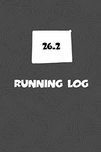 Running Log: Blank Lined Journal for anyone that loves Wyoming, running, marathons! por KwG Creates
