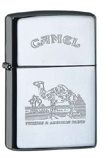 Zippo Feuerzeug Camel Logo Chrom poliert (Zippo Camel)